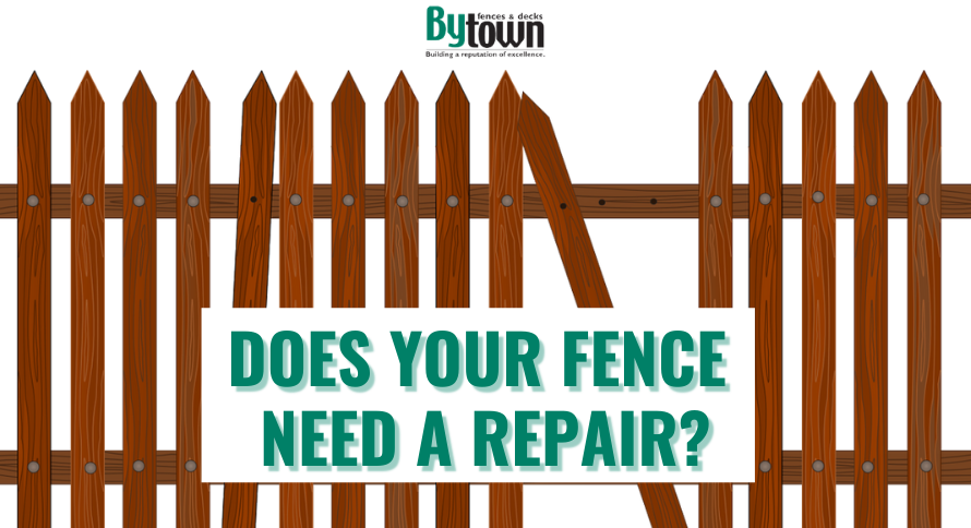 Does your Fence Need a Repair?