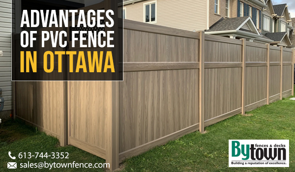 Advantages of PVC Fence in Ottawa